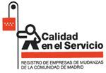 Empresas de Mudanzas de la Comunidad de Madrid