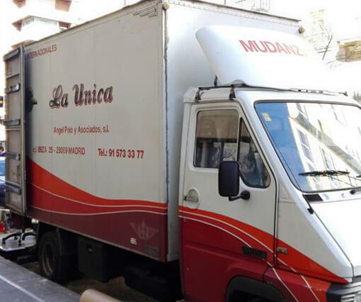 Mudanzas en la Comunidad de Madrid